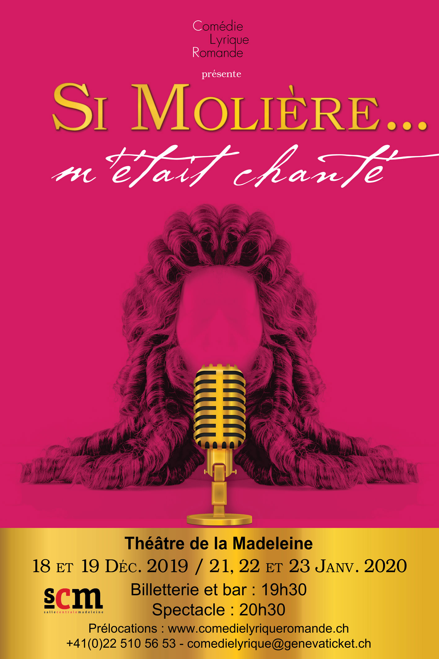 SI MOLIERE METAIT CHANTE CLR